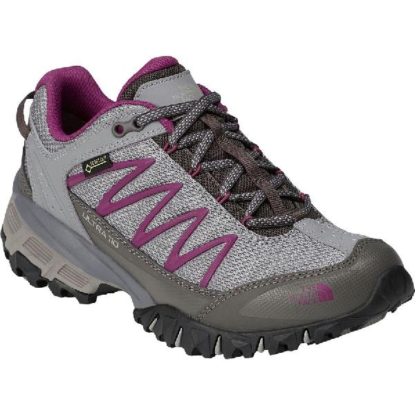 (取寄)ノースフェイス レディース ウルトラ 110Gtx ハイキングシューズ The North Face Women Ultra 110 GTX Hiking Shoe Q-silver Grey/Wild Aster Purple