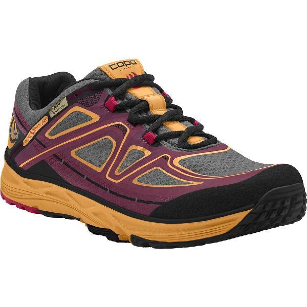 (取寄)トポアスレチック レディース ハイドロベンチャー トレイル ランニングシューズ Topo Athletic Women Hydroventure Trail Running Shoe Burgundy/Peach
