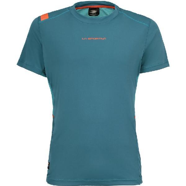 (取寄)スポルティバ メンズ ブリッツ Tシャツ La Sportiva Men's Blitz Short-Sleeve T-Shirt Lake/Tropic Blue