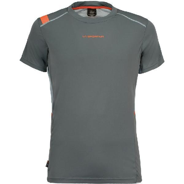 (取寄)スポルティバ メンズ ブリッツ Tシャツ La Sportiva Men's Blitz Short-Sleeve T-Shirt Slate/Stone Blue