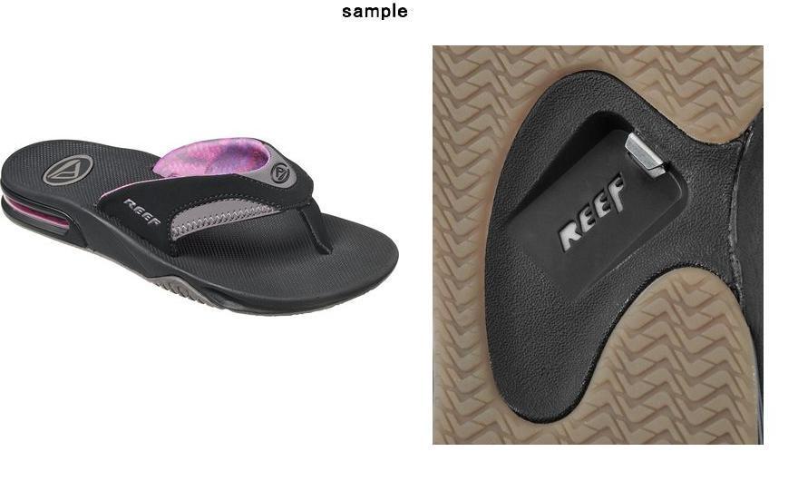 b1df7cd1b50fee JETRAG Rakuten Ichiba Shop  (order) leaf Lady s Fanning sandals Reef ...