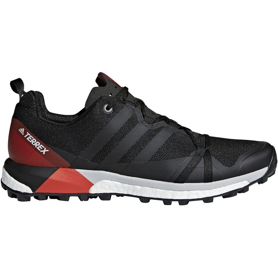 速くおよび自由な (取寄)アディダス メンズ アウトドア テレックス アグラヴィック シューズ Adidas Men's Outdoor Terrex Agravic Shoe Black/Carbon/Hi-res Red, アンデ f102024b