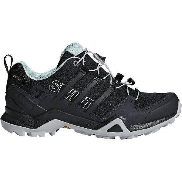 (取寄)アディダス レディース アウトドア テレックス スウィフト R2 Gtx ハイキングシューズ Adidas Women Outdoor Terrex Swift R2 GTX Hiking Shoe Black/Black/Ash Green
