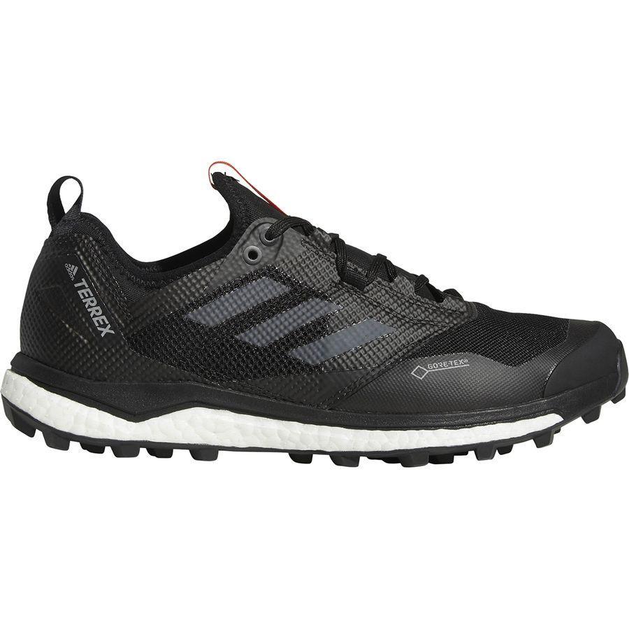 (取寄)アディダス メンズ アウトドア テレックス アグラヴィック ブースト XTGtx シューズ Adidas Men's Outdoor Terrex Agravic Boost XT GTX Shoe Black/Grey Five/Hi-res Red