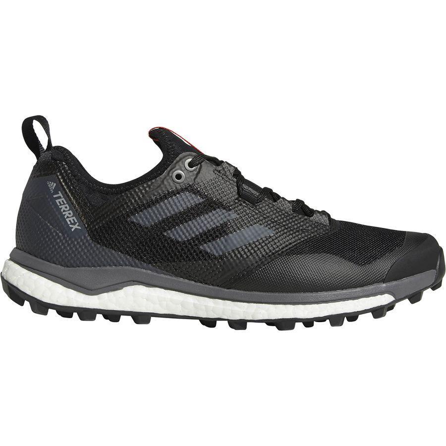 (取寄)アディダス メンズ アウトドア テレックス アグラヴィック ブースト XT シューズ Adidas Men's Outdoor Terrex Agravic Boost XT Shoe Black/Grey Five/Hi-res Red