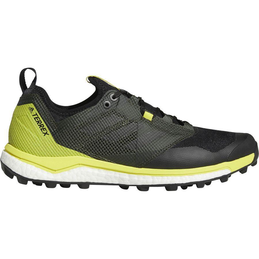 (取寄)アディダス メンズ アウトドア テレックス アグラヴィック ブースト XT シューズ Adidas Men's Outdoor Terrex Agravic Boost XT Shoe Black/Black/Shock Yellow