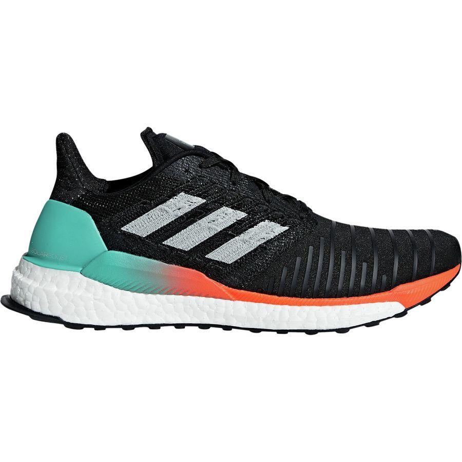 (取寄)アディダス メンズ ソーラー ブースト ランニングシューズ Adidas Men's Solar Boost Running Shoe Core Black/Grey Two F17/Hi-res Aqua
