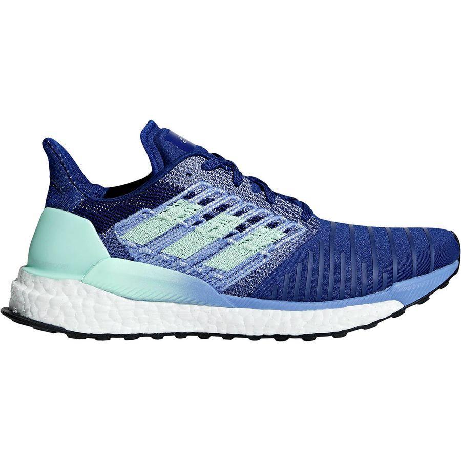 (取寄)アディダス レディース ソーラー ブースト ランニングシューズ Adidas Women Solar Boost Running Shoe Mystery Ink F17/Clear Mint/Real Lilac