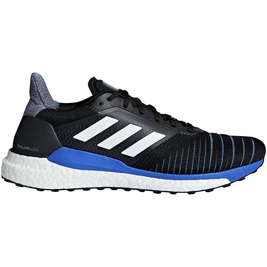 (取寄)アディダス メンズ ソーラー グライド ブースト ランニングシューズ Adidas Men's Solar Glide Boost Running Shoe Legend Ink F17/Footwear White/Hi-res Aqua F18