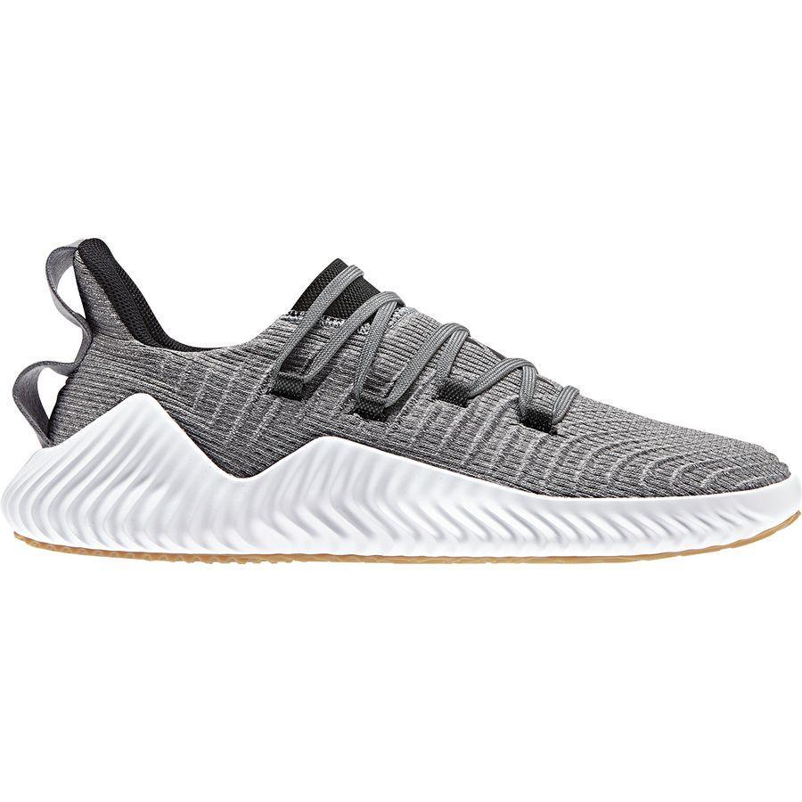 (取寄)アディダス メンズ アルファバウンス トレーナー シューズ Adidas Men's Alphabounce Trainer Shoe Grey Three F17/Core Black/Raw Desert