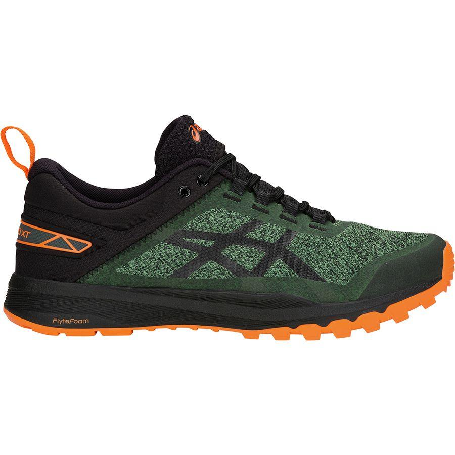 (取寄)アシックス メンズ ゲッコー XTトレイル ランニングシューズ Asics Men's Gecko XT Trail Running Shoe Cedar Green/Black