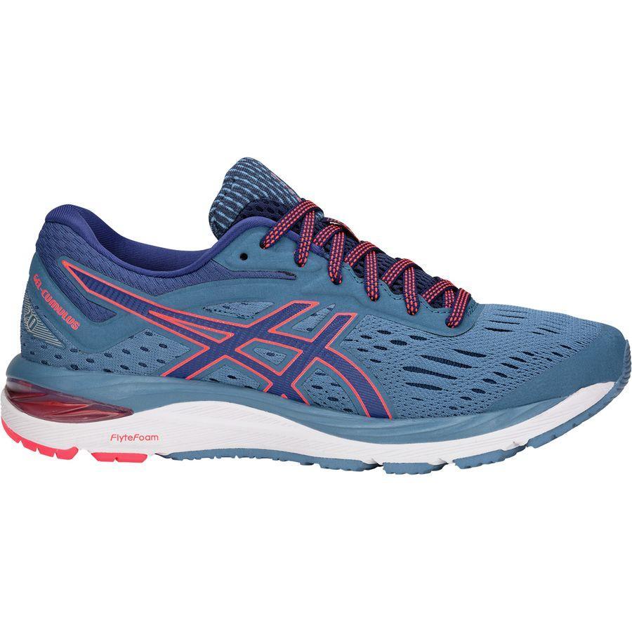 (取寄)アシックス レディース Gel-Cumulus20 ランニングシューズ Asics Women Gel-Cumulus 20 Running Shoe Azure/Blue Print