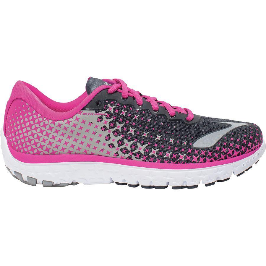 期間限定特別価格 (取寄)ブルックス Brooks Women レディース ピュアフロー 5 ランニングシューズ Brooks Women Pureflow 5 レディース Running Shoe Anthracite/Pink Glow/Alloy, 富合町:768a87e2 --- rekishiwales.club