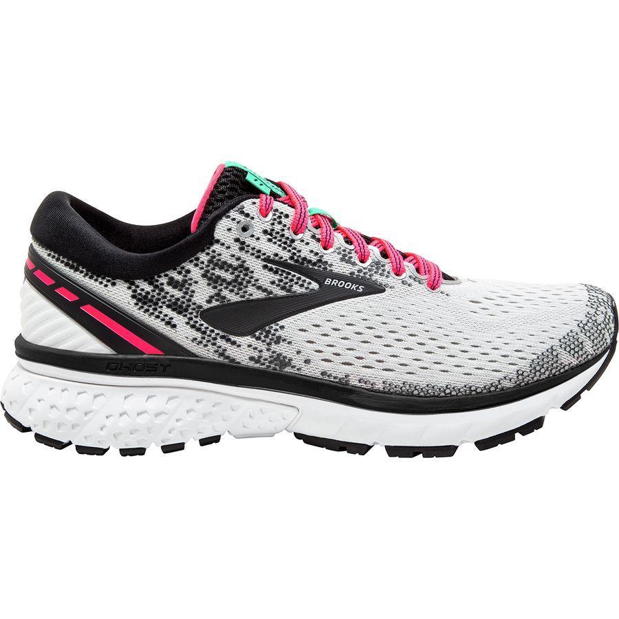 (取寄)ブルックス レディース ゴースト 11 ランニングシューズ Brooks Women Ghost 11 Running Shoe White/Pink/Black
