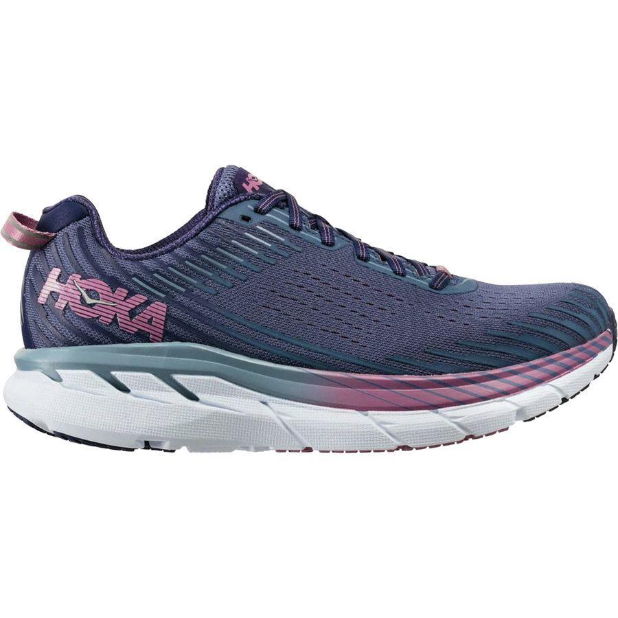 (取寄)ホカ オネオネ レディース クリフトン 5 ランニングシューズ Hoka One One Women Clifton 5 Running Shoe Marlin/Blue Ribbon