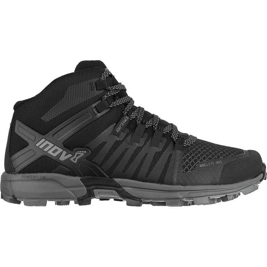 (取寄)イノヴェイト レディース ロックライト 325トレイル ランニングシューズ Inov 8 Women Roclite 325 Trail Running Shoe Black/Grey