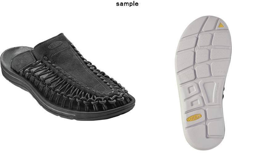 915624b07c4 (order) Kean lady s unique slide sandals KEEN Women Uneek Slide Sandal Black  Black