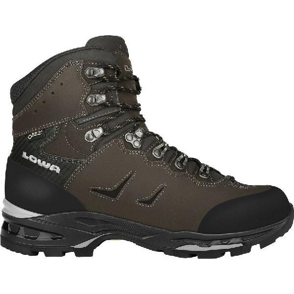(取寄)ローバー メンズ カミノ Gtx フレックス バックパッキング ブーツ Lowa Men's Camino GTX Flex Backpacking Boot Dark Gray/Black