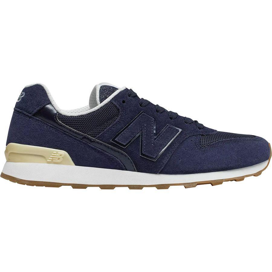 (取寄)ニューバランス レディース 696 スウェード シューズ New Balance Women 696 Suede Shoe Pigment/Vanilla