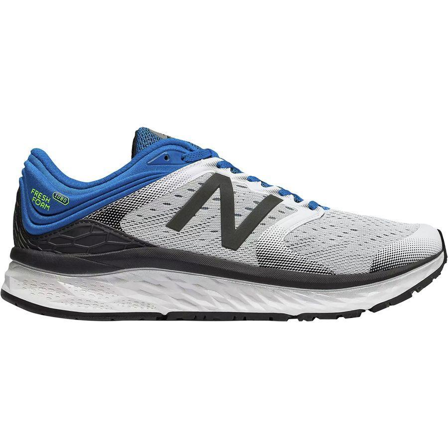 (取寄)ニューバランス メンズ 1080v8 ランニングシューズ New Balance Men's 1080v8 Running Shoe White/Laser Blue