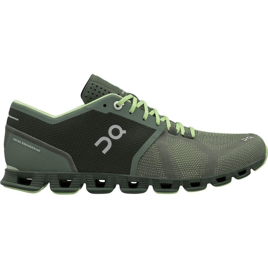 (取寄)オン フットウェアー メンズ クラウド X ランニングシューズ On Footwear Men's Cloud X Running Shoe Forest/Jungle