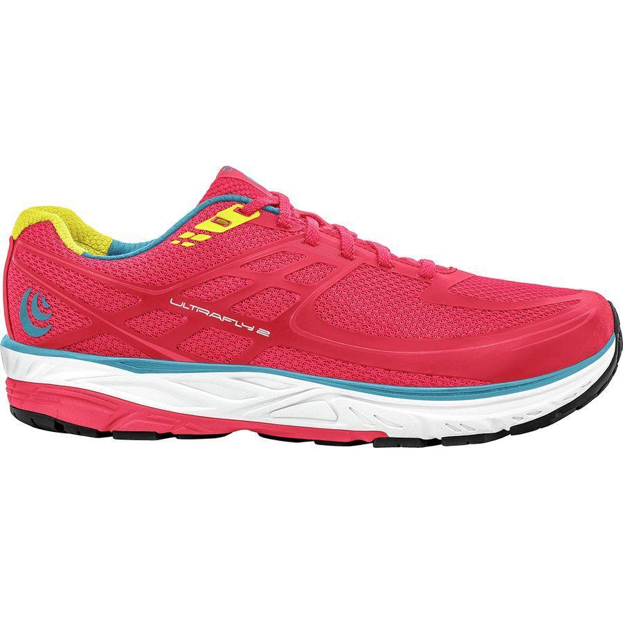 (取寄)トポアスレチック レディース ウルトラフライ 2 ランニングシューズ Topo Athletic Women Ultrafly 2 Running Shoe Pink/Yellow
