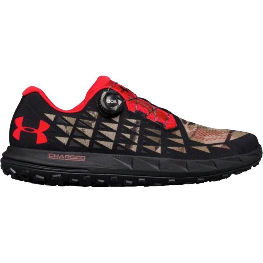 (取寄)アンダーアーマー メンズ ファット タイヤ 3トレイル ランニングシューズ Under Armour Men's Fat Tire 3 Trail Running Shoe Ridge Reaper Camo Ba/Black/White