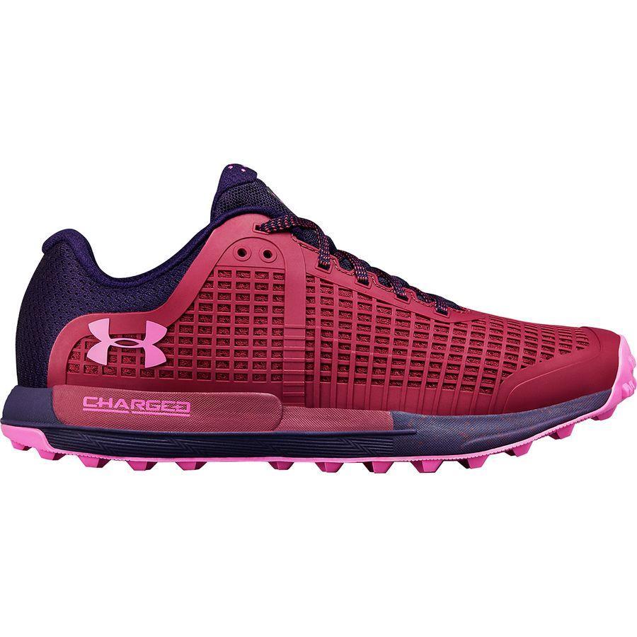 (取寄)アンダーアーマー レディース ホライズン BPFトレイル ランニングシューズ Under Armour Women Horizon BPF Trail Running Shoe Pixel Purple