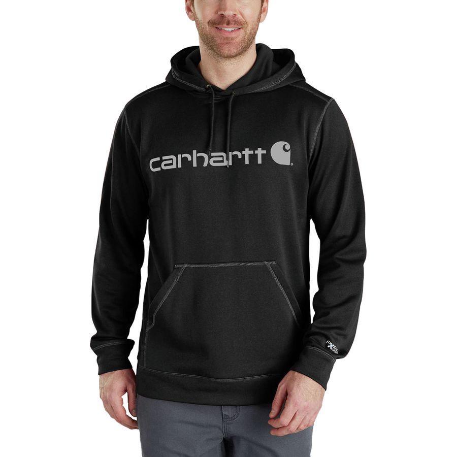 (取寄)カーハート メンズ フォース エクストリームス シグ二チャー グラフィック フーデッド トレーナー パーカー Carhartt Men's Force Extremes Signature Graphic Hooded Sweatshirt Hoodie Black/Black