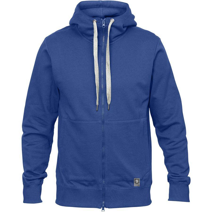 (取寄) フェールラーベン メンズ グリーンランド ジップ パーカー Fjallraven Men's Greenland Zip Hoodie Deep Blue
