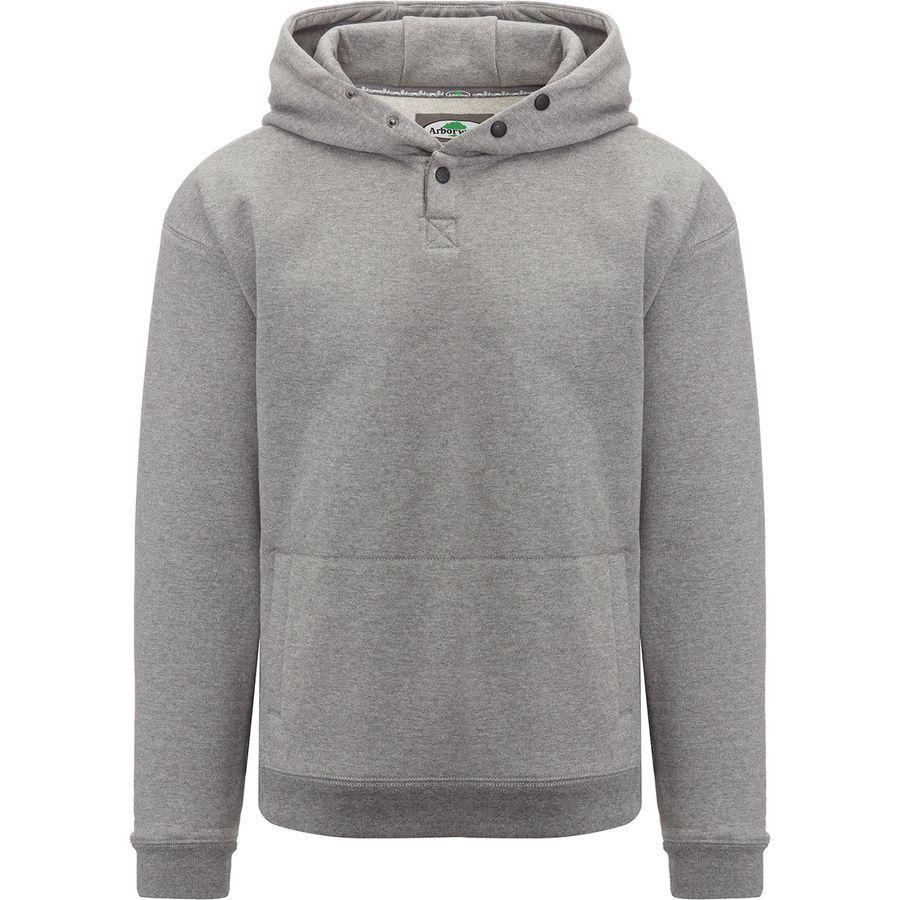 (取寄)アーバーウェア メンズ ダブル シック プルオーバー パーカー Arborwear Men's Double Thick Hoodie Pullover Athletic Grey
