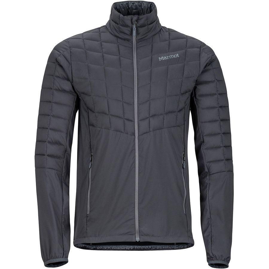 (取寄)マーモット メンズ フェザーレス ハイブリッド インサレーテッド ジャケット Marmot Men's Featherless Hybrid Insulated Jacket Slate Grey