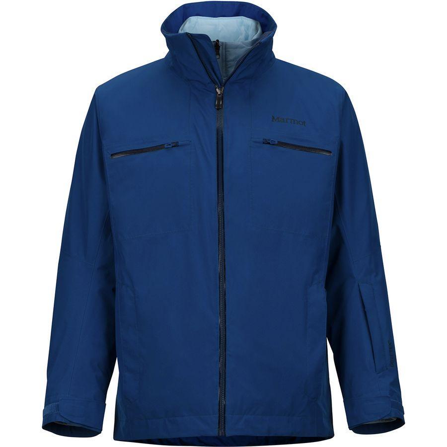 (取寄)マーモット メンズ KT コンポーネント スリーインワン ジャケット Marmot Men's KT Component 3-in-1 Jacket Dark Cerulean