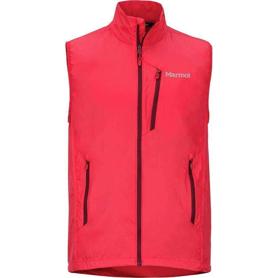(取寄)マーモット メンズ イーザー ドライクライム ベスト Marmot Men's Ether DriClime Vest Tomato