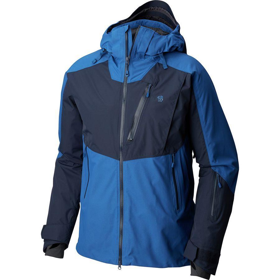 (取寄)マウンテンハードウェア メンズ ファイアフォール ジャケット Mountain Hardwear Men's Firefall Jacket Nightfall Blue