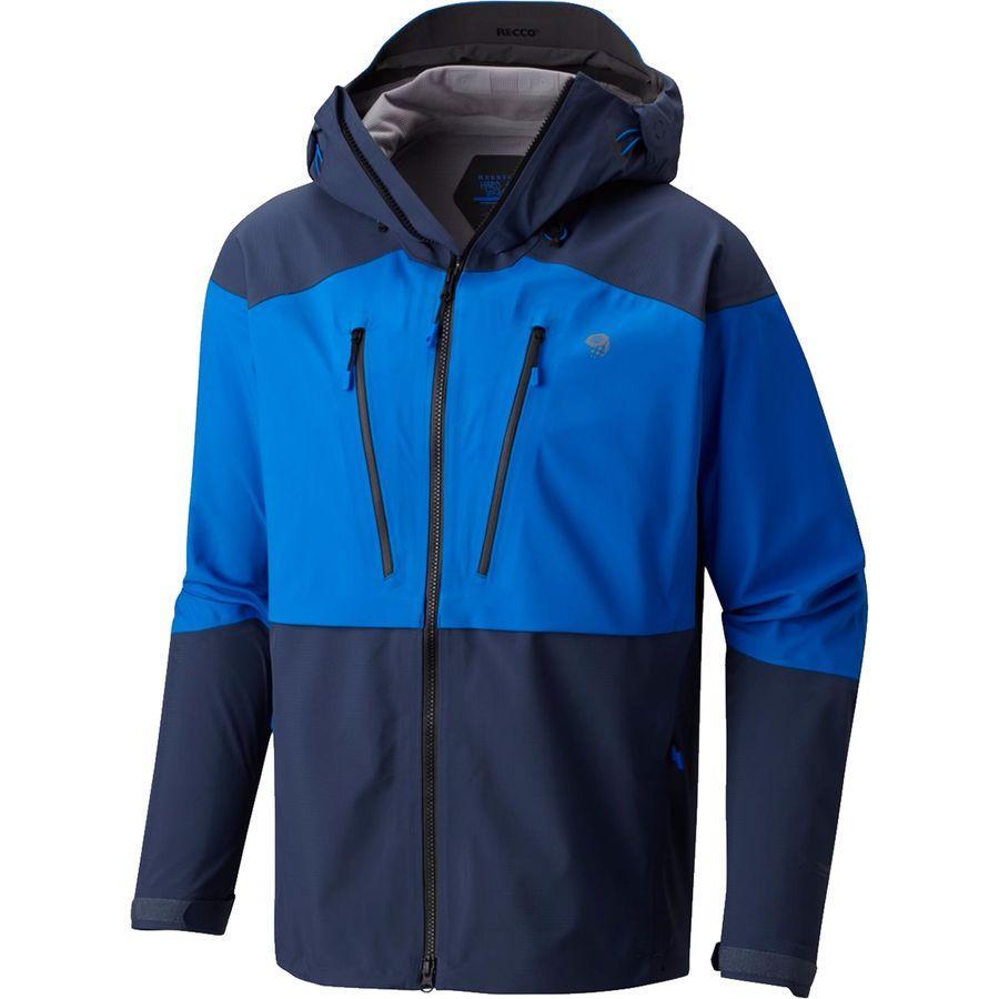 (取寄)マウンテンハードウェア メンズ サイクロン ジャケット Mountain Hardwear Men's Cyclone Jacket Altitude Blue/Zinc