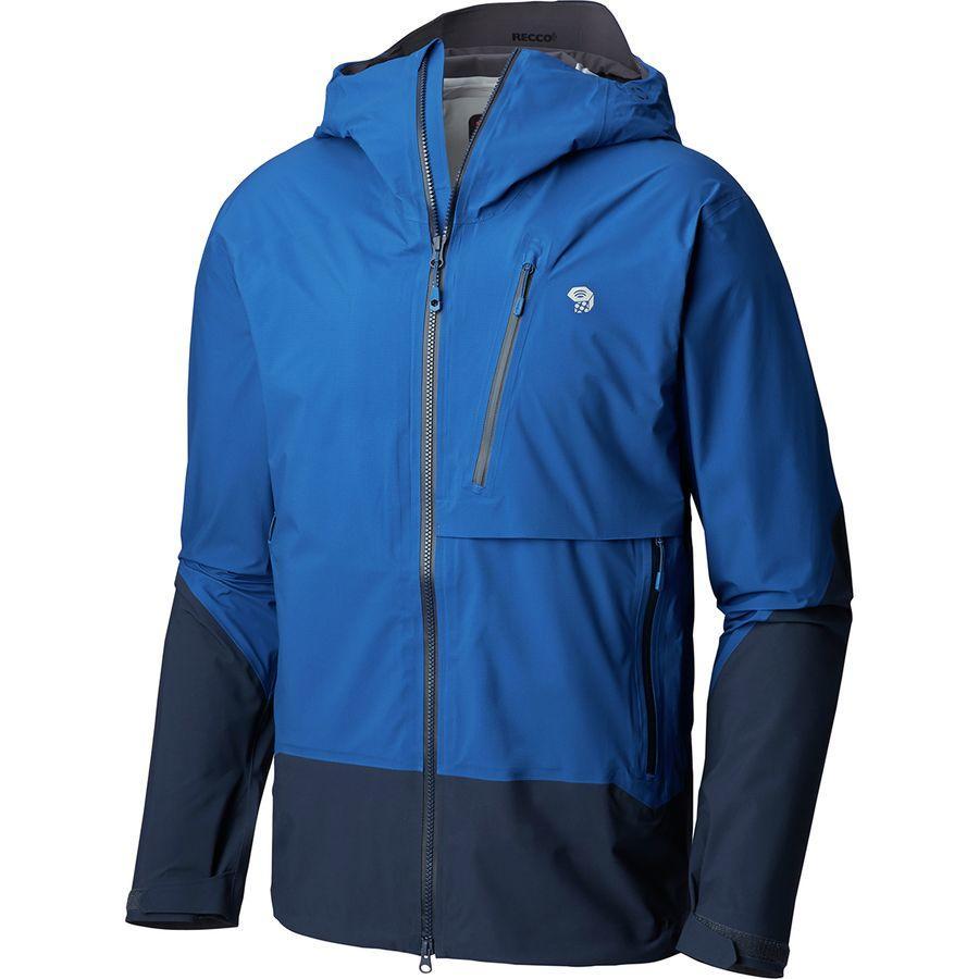 (取寄)マウンテンハードウェア メンズ スーパーフォーマ ジャケット Mountain Hardwear Men's Superforma Jacket Nightfall Blue