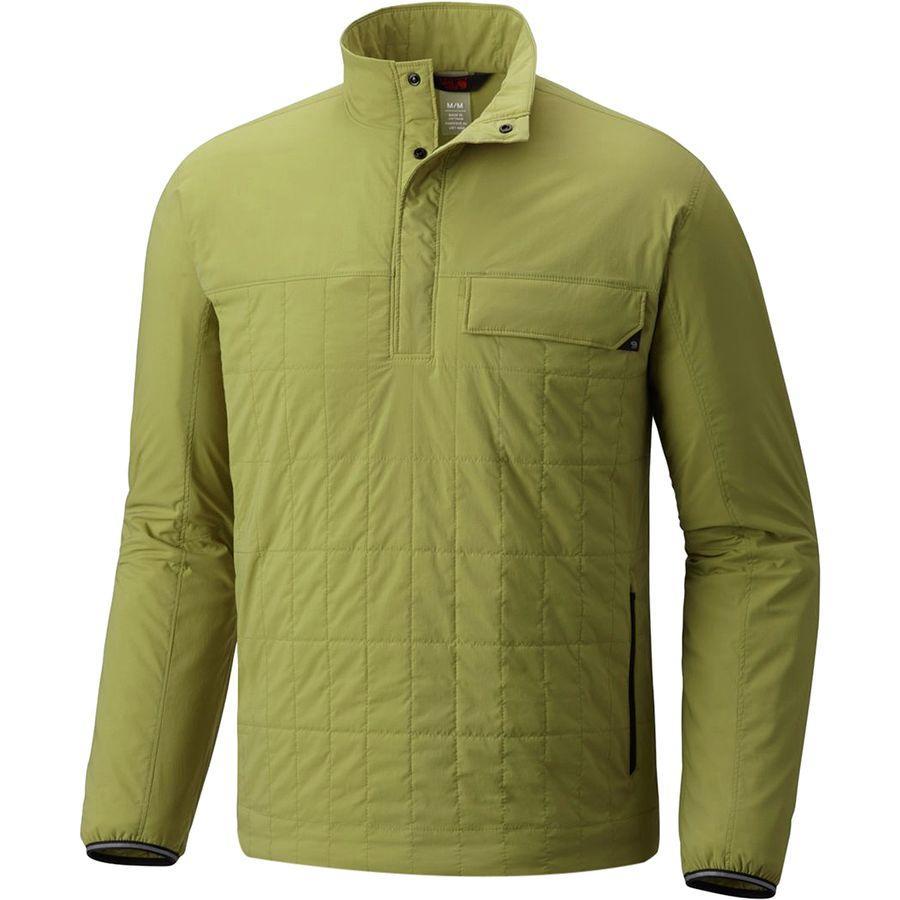 (取寄)マウンテンハードウェア メンズ エスケープ インサレーテッド プルオーバー Mountain Hardwear Men's Escape Insulated Pullover Fatigue Green