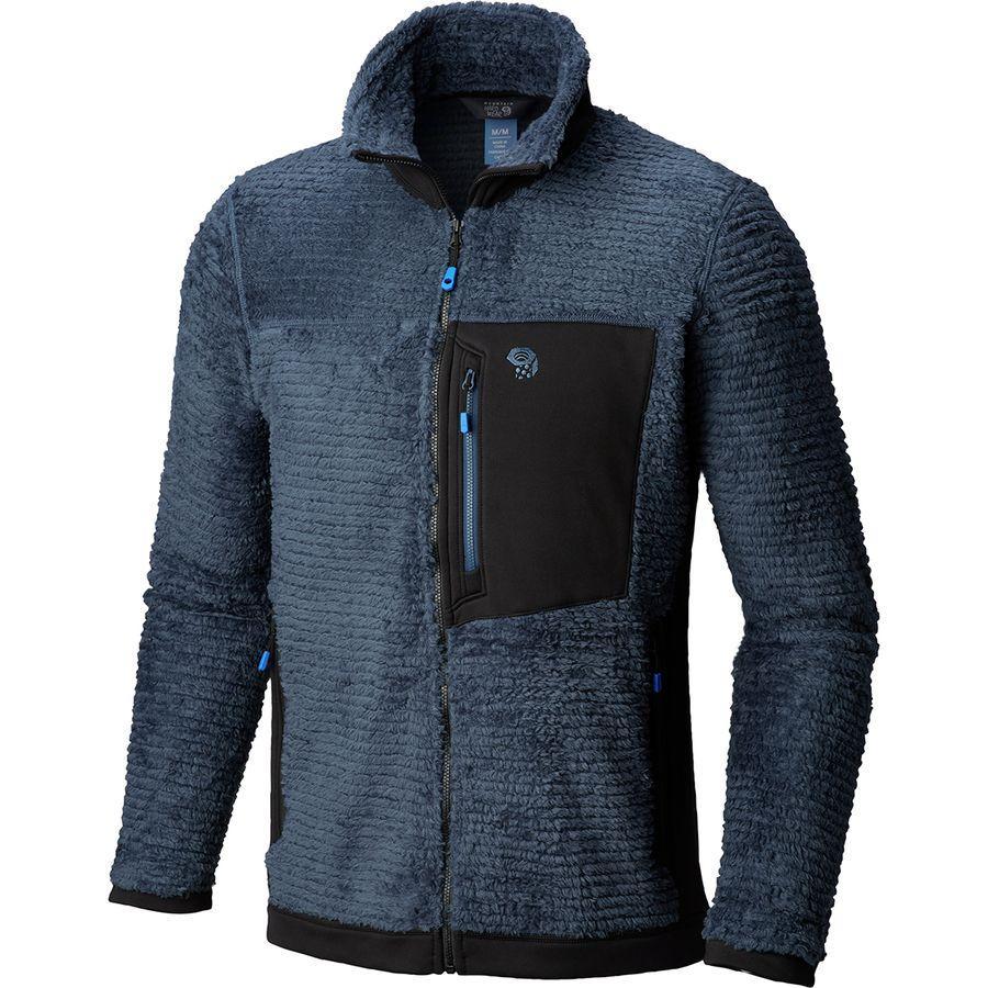 (取寄)マウンテンハードウェア メンズ モンキー メンズ フリース ジャケット Mountain Hardwear Men's Monkey Man Fleece Jacket Zinc