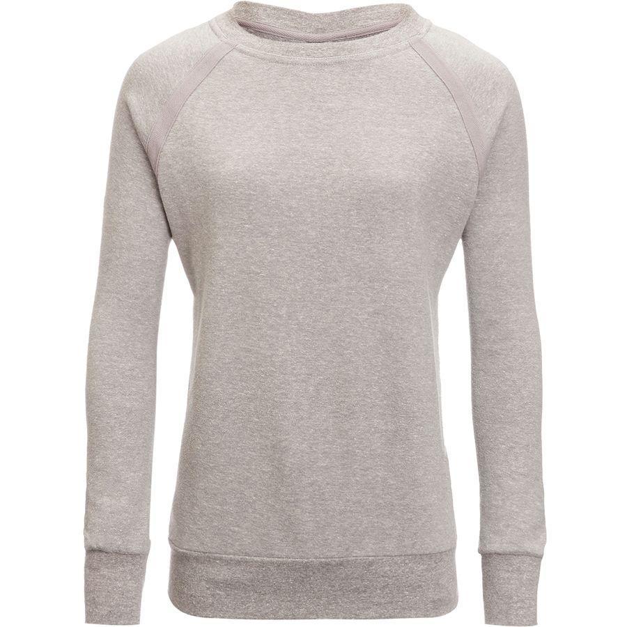 (取寄)プラナ レディース コーズィ アップ トレーナー Prana Women Cozy Up Sweatshirt Heather Grey