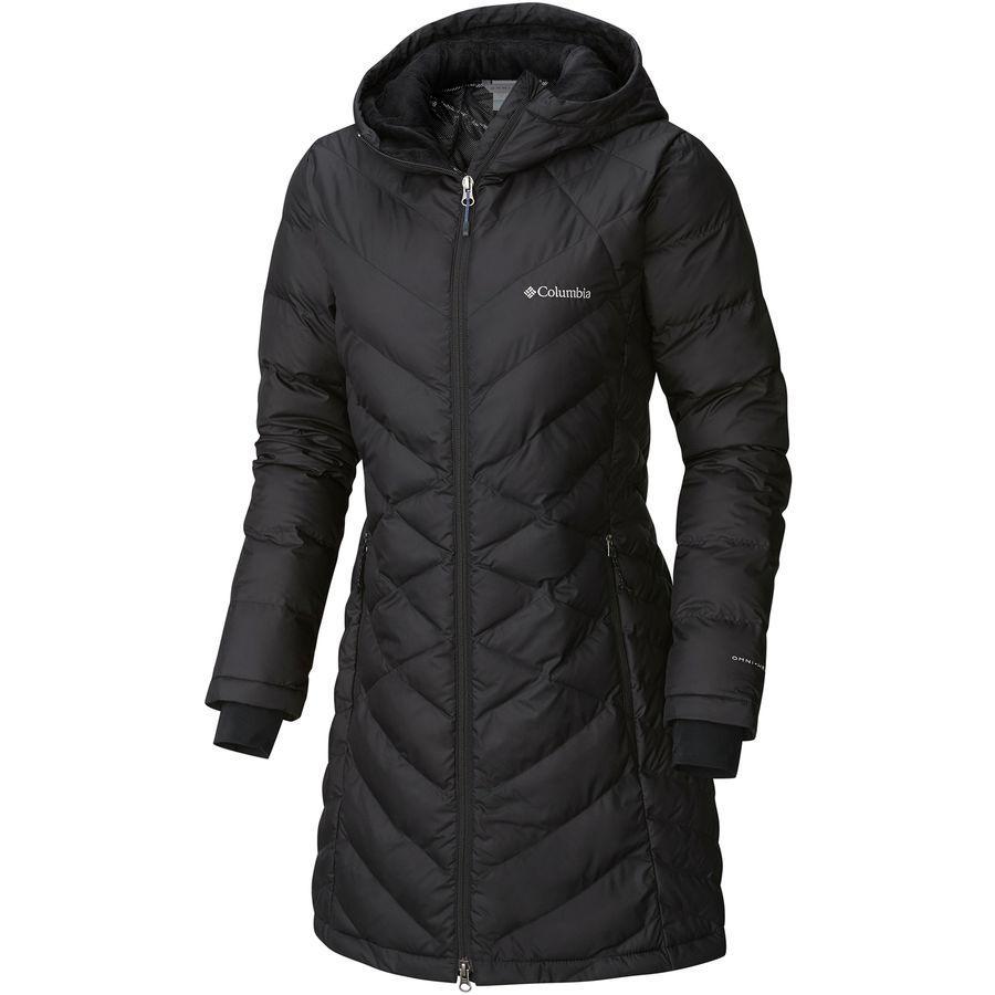 (取寄)コロンビア レディース ヘヴンリー ロング フーデッド ジャケット Columbia Women Heavenly Long Hooded Jacket Black