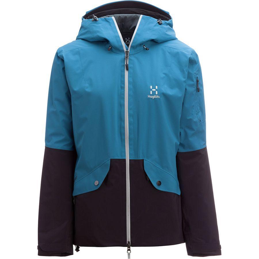 (取寄)ホグロフス レディース キオーネ インサレーテッド ジャケット Haglofs Women Khione Insulated Jacket Blue Fox/Slate