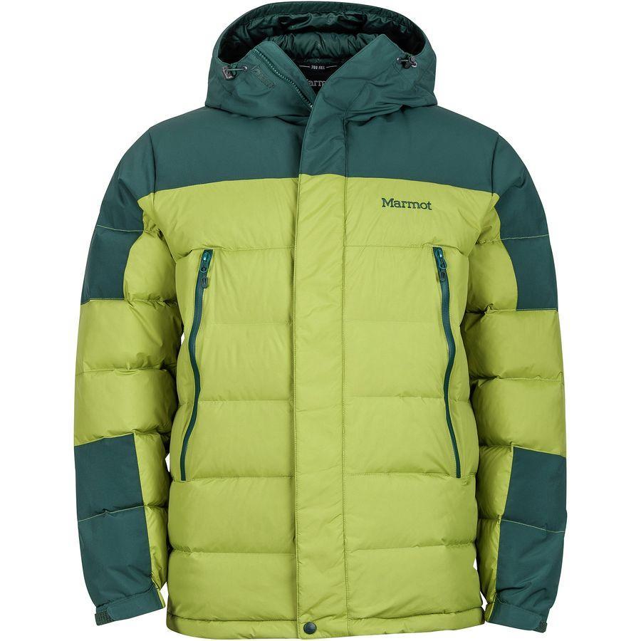 (取寄)マーモット メンズ マウンテン ダウン ジャケット Marmot Men's Mountain Down Jacket Cilantro/Dark Spruce