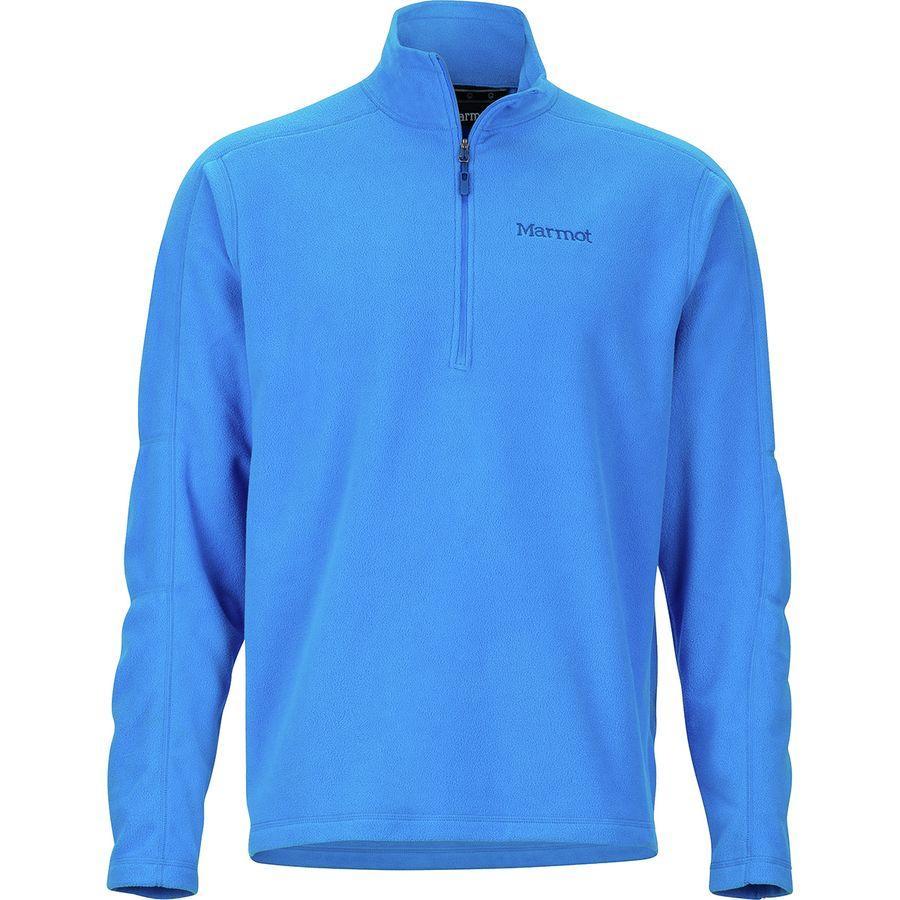 2018新発 (取寄)マーモット メンズ ロックリン 1/2-Zip Clear フリース ジャケット Jacket Marmot フリース Men's Rocklin 1/2-Zip Fleece Jacket Clear Blue, Chloris-flower:c3e68712 --- canoncity.azurewebsites.net