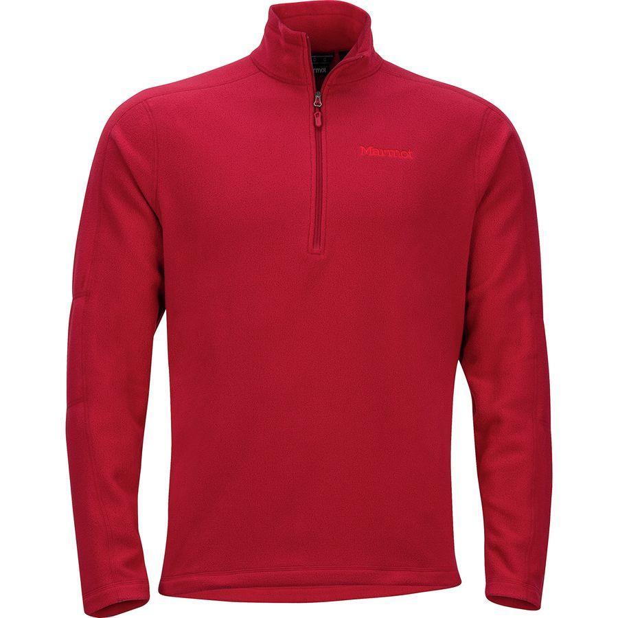 【日本産】 (取寄)マーモット Men's メンズ メンズ ロックリン 1/2-Zip フリース ジャケット Jacket Marmot Men's Rocklin 1/2-Zip Fleece Jacket Sienna Red, 髪わざ:7f1eb47e --- canoncity.azurewebsites.net