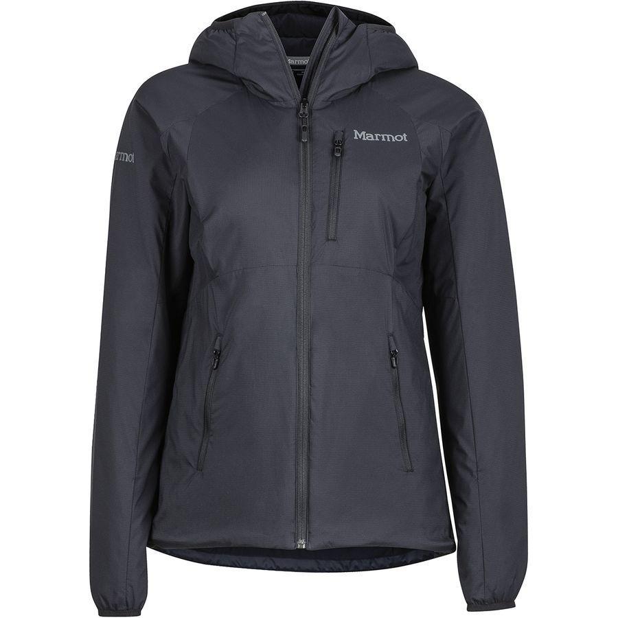 (取寄)マーモット レディース ノヴァス フーデッド ジャケット Marmot Women Novus Hooded Jacket Black