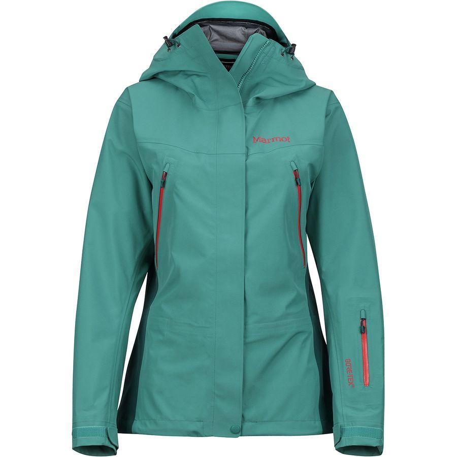 (取寄)マーモット レディース スパイアー ジャケット Marmot Women Spire Jacket Patina Green/Deep Teal