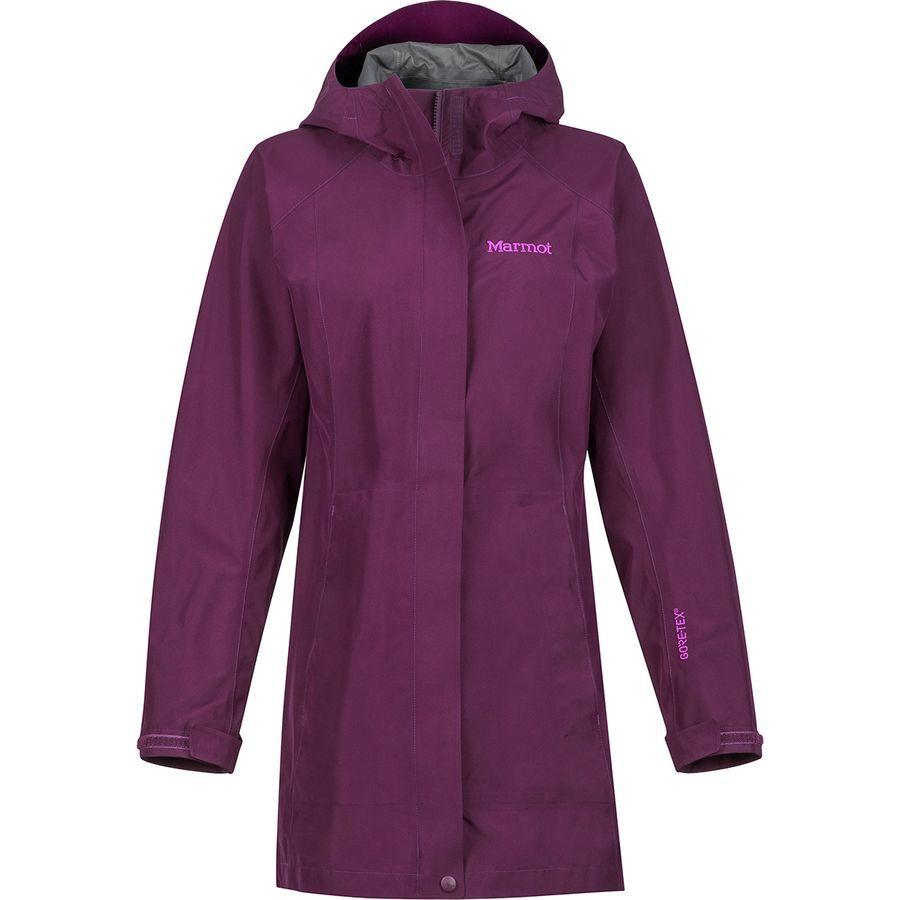 (取寄)マーモット レディース エッセンシャル ジャケット Marmot Women Essential Jacket Dark Purple