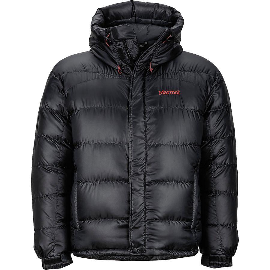(取寄)マーモット メンズ グリーンランド バッフルド ダウン ジャケット Marmot Men's Greenland Baffled Down Jacket Black