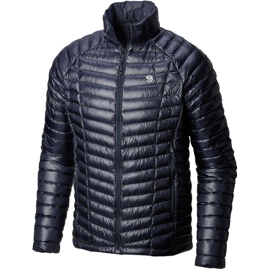 (取寄)マウンテンハードウェア メンズ ゴースト ウィスパラー ダウン ジャケット Mountain Hardwear Men's Ghost Whisperer Down Jacket Dark Zinc